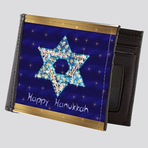 Gems and Sparkles For Hanukkah Mens Wallet