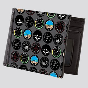 Flight Instruments Mens Wallet