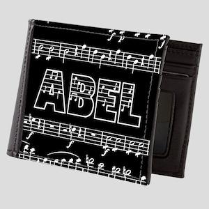 Abel, Musical Notes Mens Wallet