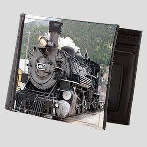 Steam train engine Silverton, Colorado Mens Wallet