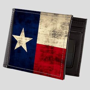 Texas Flag Mens Wallet