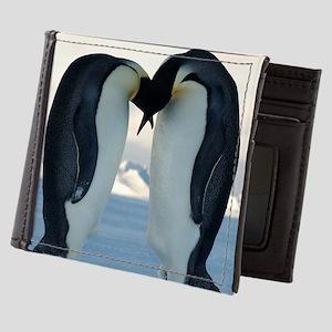 Emperor Penguin Courtship Mens Wallet