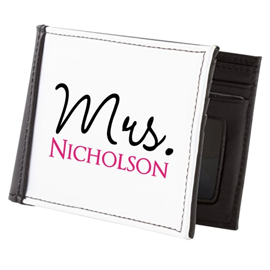 Customizable Mrs - personalized name