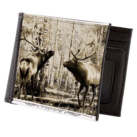 Bull elk ugly