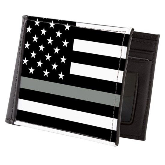 U.S. Flag: Black Flag & The Thin Grey Line