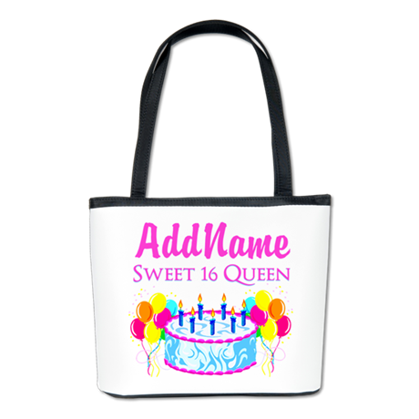 SWEET 16 QUEEN Bucket Bag