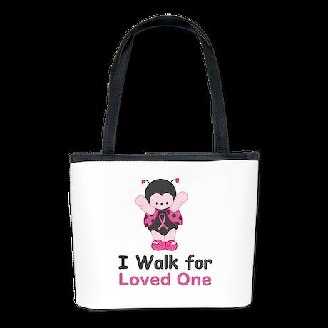 Walk For Ladybug Bucket Bag