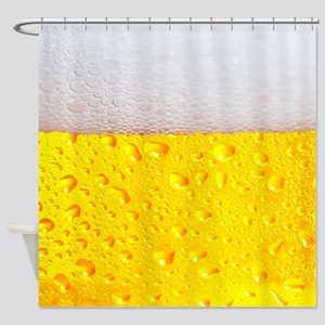 Realistic Beer Shower Curtain
