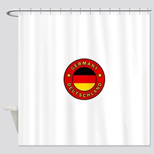 Germany Deutschland Shower Curtain