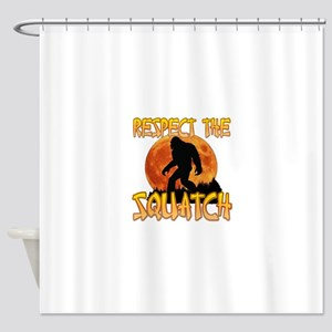Respect the Squatch Shower Curtain