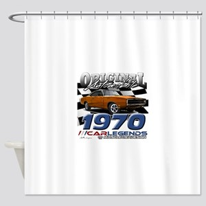 1970 Charger Shower Curtain
