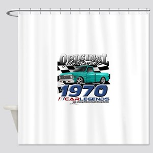 1970 Pickup Shower Curtain