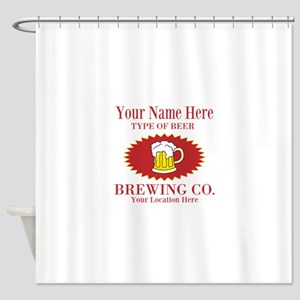 Your Brewing Company Shower Curtain