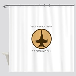 ghost5 Shower Curtain