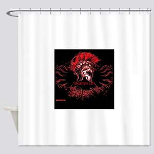 Spartan Life Shower Curtain