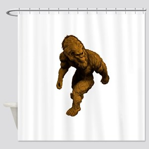 WALK ON TODAY Shower Curtain