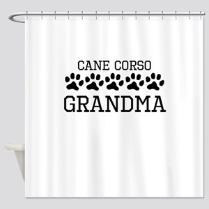 Cane Corso Grandma Shower Curtain