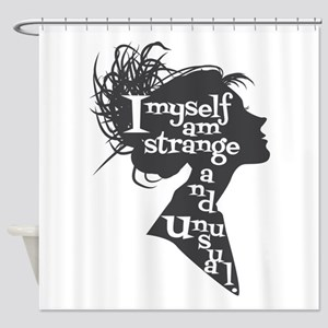Lydia quote Shower Curtain