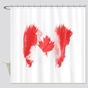 Canada Flag Canadian Shower Curtain