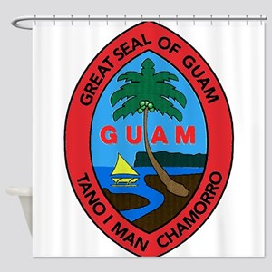 Guam Shower Curtain
