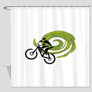 RIDE TIGHT Shower Curtain