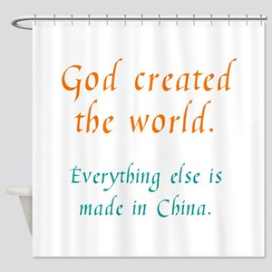 Made in China Shower Curtain