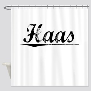 Haas, Vintage Shower Curtain
