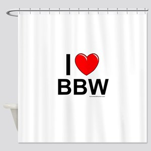 BBW Shower Curtain