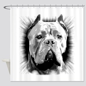 Cane Corso Dog Shower Curtain