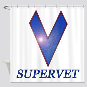Supervet Shower Curtain
