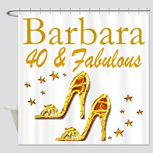 40TH PRIMA DONNA Shower Curtain
