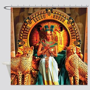 Queen Cleopatra Shower Curtain
