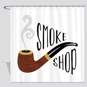 Smoke Shop Shower Curtain