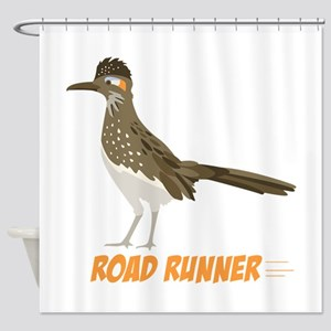 ROAD RUNNER Shower Curtain