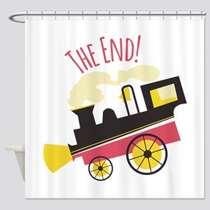 The End! Shower Curtain