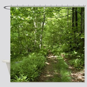 The Road Not Taken Shower Curtain