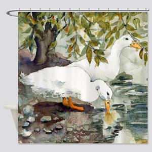 Duckie Love Shower Curtain
