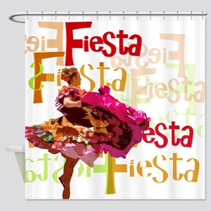 Fiesta Shower Curtain