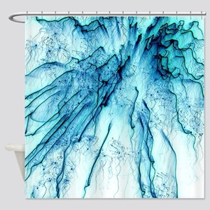 Special Fireworks Shower Curtain