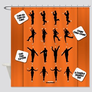 Arrested Development Chicken Dance Shower Curtain