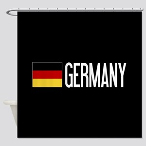 Germany: Germany & German Flag Shower Curtain