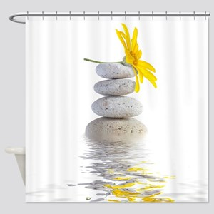 Spa Stones Shower Curtain