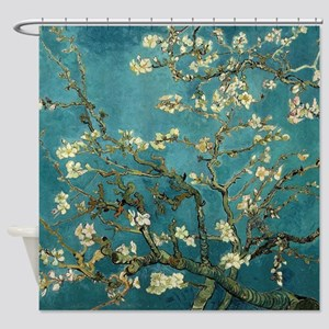 Van Gogh Almond Branches In Bloom Shower Curtain