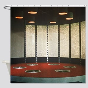 Star Trek Teleporter Room Shower Curtain