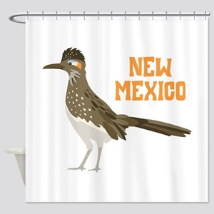 NEW MEXICO Roadrunner Shower Curtain
