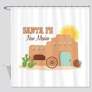SANTA FE New mesico Shower Curtain