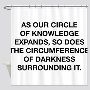Circle Of Knowledge Shower Curtain