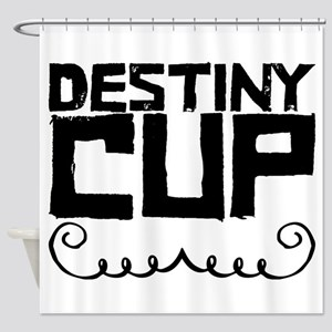 Destiny Cup Shower Curtain
