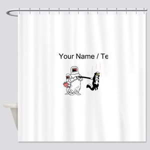 Funny Fishing Team Names Shower Curtains - CafePress