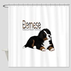 1a1e374b94c8 Bernese Mountain Dog Shower Curtains - CafePress